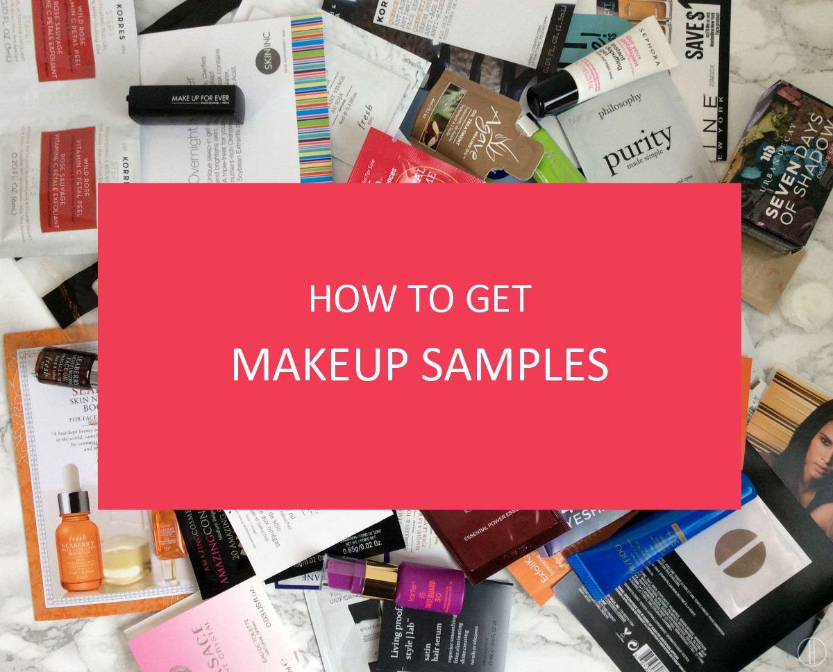 how to get free makeup samples in india